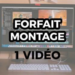 Forfait Montage - 1 Vidéo -...